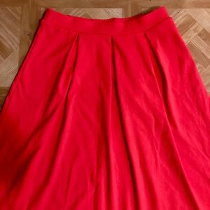 Cynthia Rowley Skirts - NWOT: Cynthia Rowley Midi Pleated Skirt- Medium